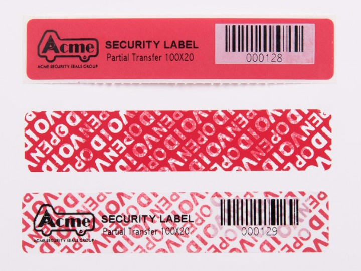 Acme Seals Group  Security labels and bags